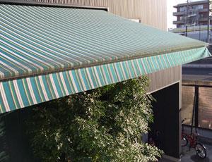 上屋・庇テント